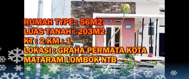 Rumah Graha Permata Kota type: 56/203, 507.5 JT, CLOSED !!!